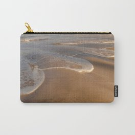 Gentle Waves on Beach Carry-All Pouch