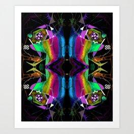 二 (Èr) Art Print
