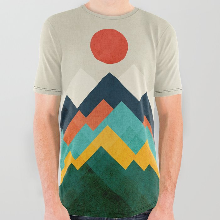 The hills are alive All Over Graphic Tee