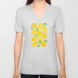 Lemon Crowd Unisex V-Neck