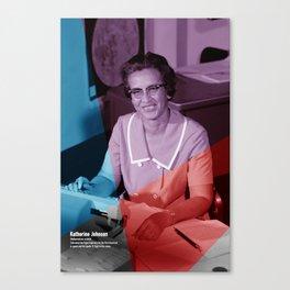 Women of NASA: Katherine Johnson Canvas Print