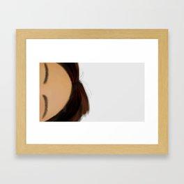 01 Forehead Framed Art Print