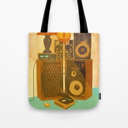 RECORD ROOM Tote Bag