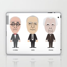 The Godfathers of Modern Architecture Laptop & iPad Skin