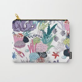underwater pattern Carry-All Pouch