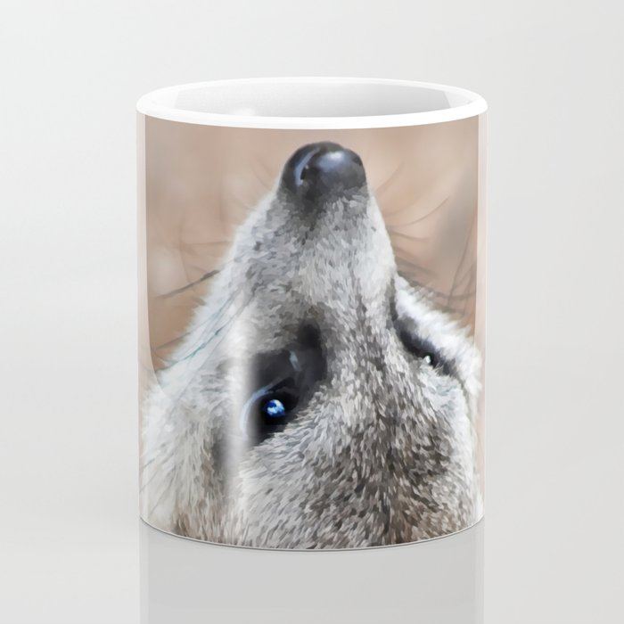 Meerkat looking for eagles Coffee Mug