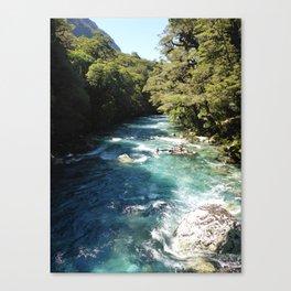 Lake Marian, New Zealand Canvas Print