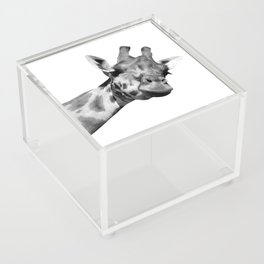 Black and white giraffe Acrylic Box