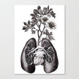 Flourishing Lungs Canvas Print
