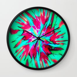 shatter , explode break to pieces Wall Clock