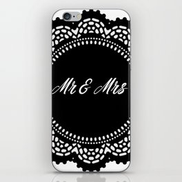 Mr & Mrs iPhone Skin