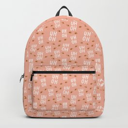 Pattern Project / Uh Oh Pattern Backpack