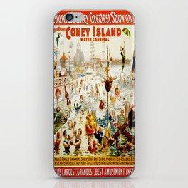 Vintage poster - Circus iPhone Skin