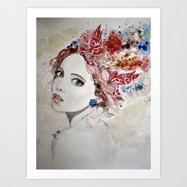 """Always on my mind"" Art Print"