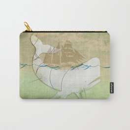 The ghost of Captain Ahab, Moby Dick Carry-All Pouch