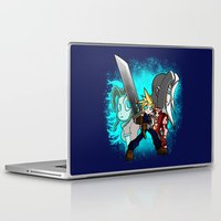 scott pilgrim Laptop & iPad Skins featuring Cloud Pilgrim by CjBouchermedia