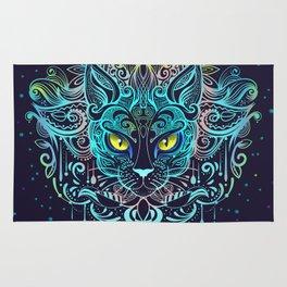 Cat Mandala Rug