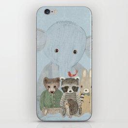 littlest woodland iPhone Skin