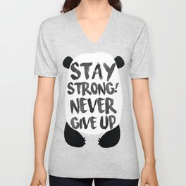 Stay Strong Unisex V-Neck