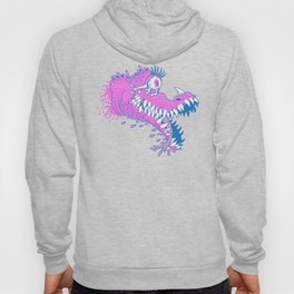 One Eyed Bubblegum Beast Hoody