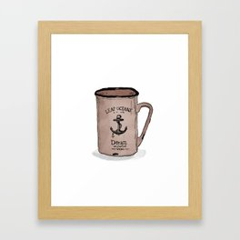 Uncharted Waters Framed Art Print