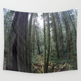 Go pro forest Canada Wall Tapestry