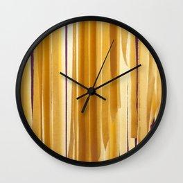 Sundried stripes Wall Clock