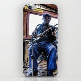 Blues Man iPhone Skin