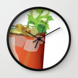 Canadian Ceasar - Best Drink Eh? Wall Clock