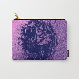 Tiger Purple Carry-All Pouch