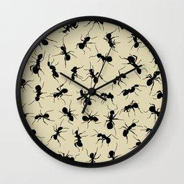 Ants Wall Clock