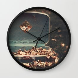 Taking Autumn With Me Wall Clock