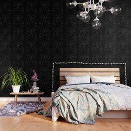 White line couple Wallpaper