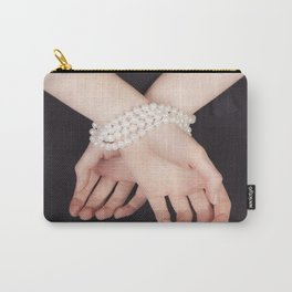 Tied with pearls Carry-All Pouch
