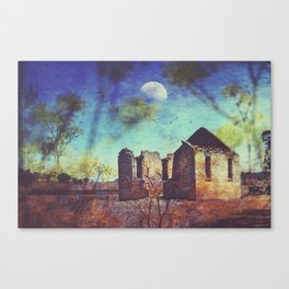 The ruin of St Marys Canvas Print