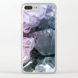Crystal Cave Clear iPhone Case