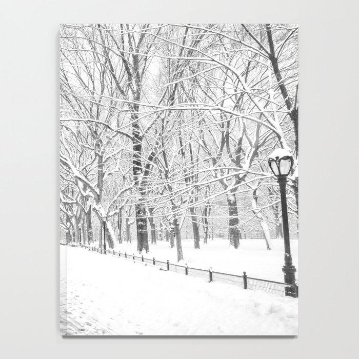 New York City Snow Notebook