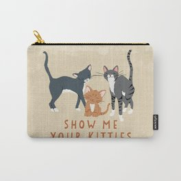 Show Me Your Kitties Carry-All Pouch