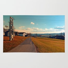 Scenic view at indian summer | landscape photography Rug