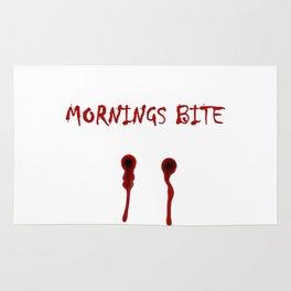 Mornings bite Rug