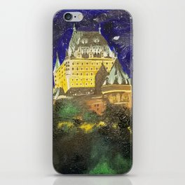 Chateau Frontenac iPhone Skin