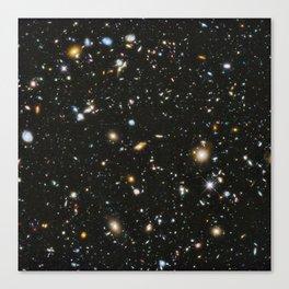 Galaxies: Hubble Space Telescope Ultra Deep Field 2 Canvas Print