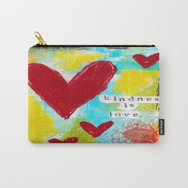 KINDNESS IS LOVE Carry-All Pouch