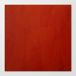 Italian Style Red Stucco Canvas Print
