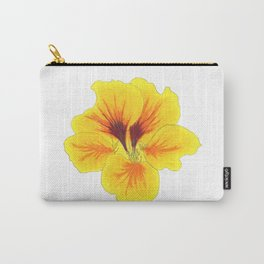 Indian cress flower - illustration Carry-All Pouch