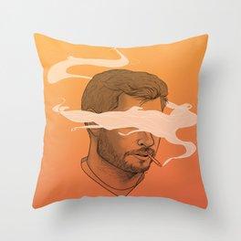 Smokin' Jay Throw Pillow