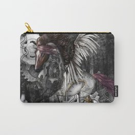 Wonderful steampunk horse with wings Carry-All Pouch