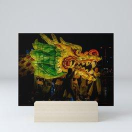 Lantern Parade Dragon Mini Art Print