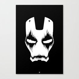 Black Iron Canvas Print