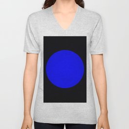 blue hole Unisex V-Neck